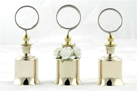 Wedding Bell Place Card Holders by Wedding Traditions Bridalguide