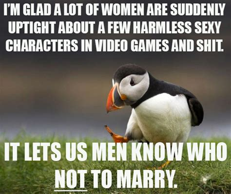 Unpopular Opinion Meme - an unpopular opinion about gamergame unpopular opinion puffin know your meme
