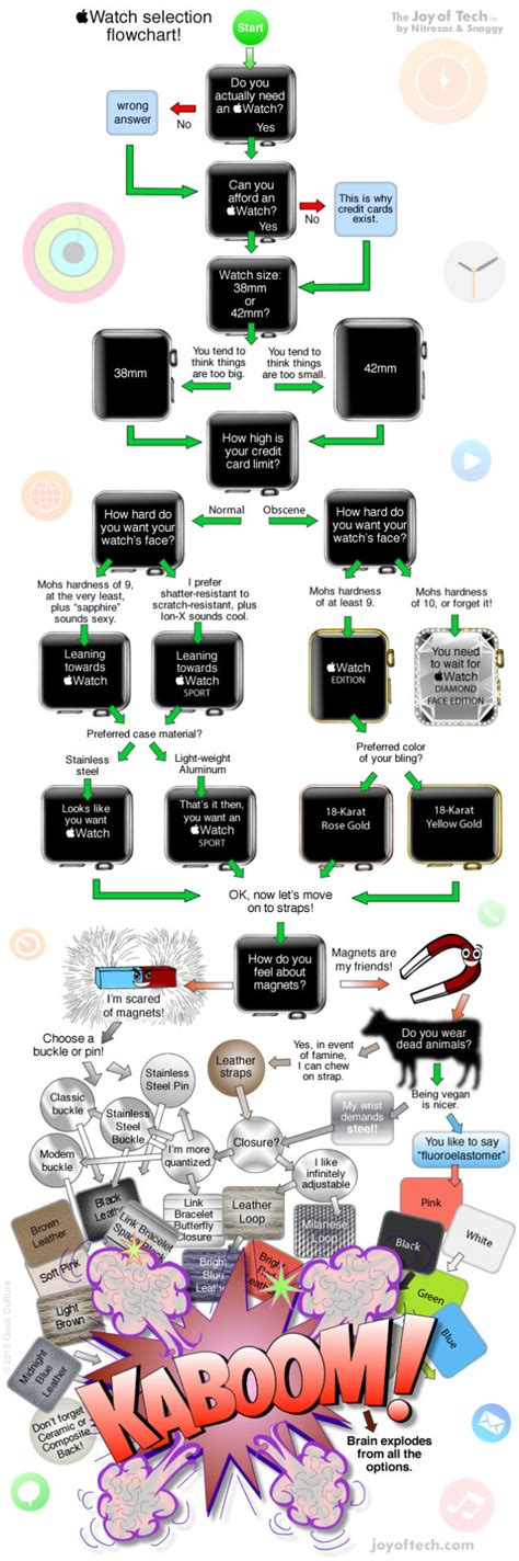 apple flowchart a flowchart to help you choose which apple to buy