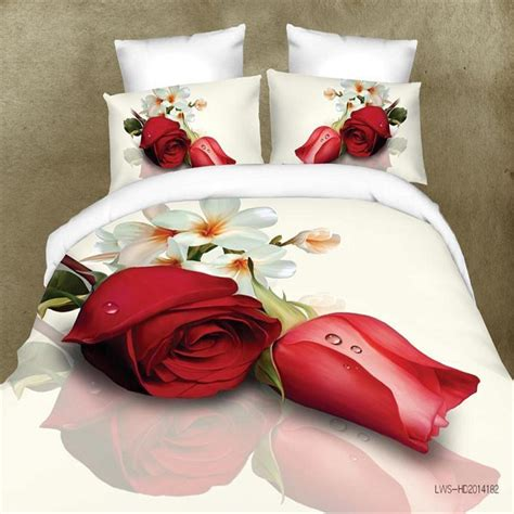 3d bed sheets luxury brand logo hd 3d bedding set animals flower bed