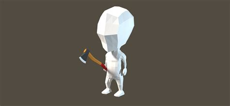 blender tutorial low poly character blender low poly axe modeling and texturing blendernation