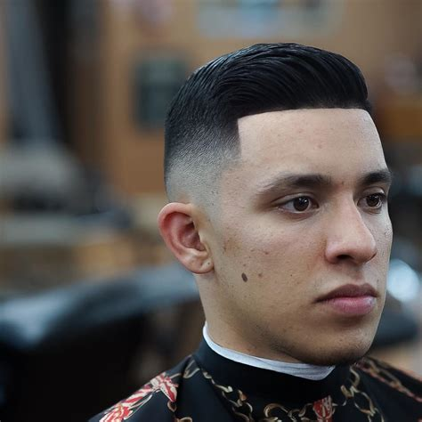 fade to comb over hairstyle 27 fade haircuts for men