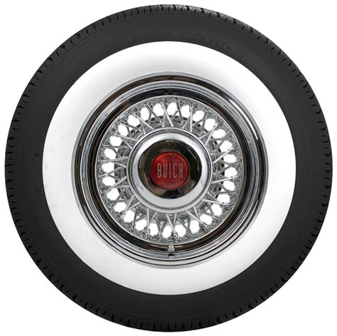 buick tires buick wire wheel and whitewall tire package roadster