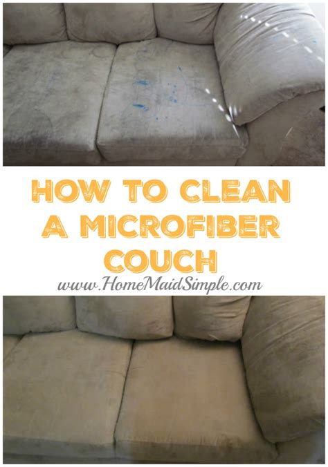 how to clean microfiber couch at home tuesday tip cleaning microfiber couches home maid simple