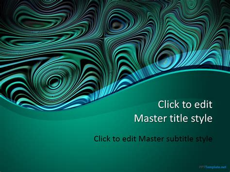 Free Green Abstract Ppt Template Free Abstract Powerpoint Templates
