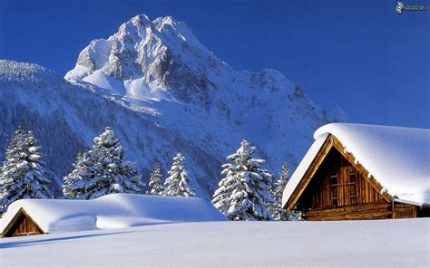Snowy Mountains Cottages by Snow Covered Cottages