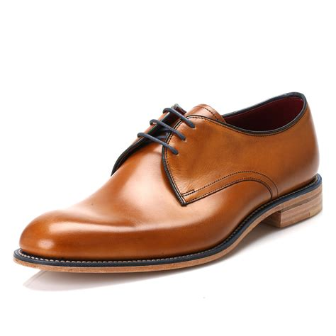 Sepatu Azcost Derby Formal Leather loake mens shoes brown leather derby smarts lace up dress formal