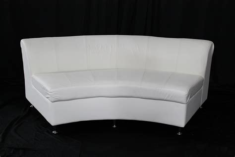 curved ottoman bogota curved loveseat event rentals in atlanta event