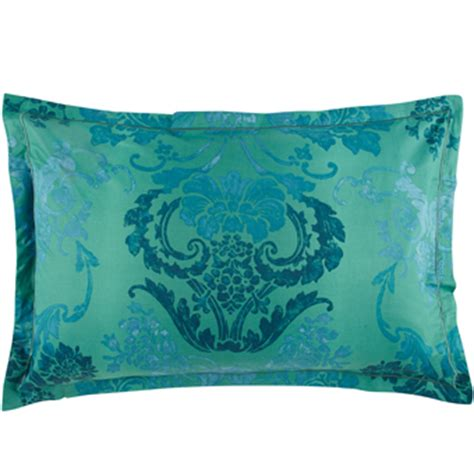 Jade Pillows by Kashgar Jade Duvet Cover By Designers Guild