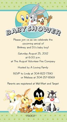 1000 images about baby shower on pinterest looney tunes