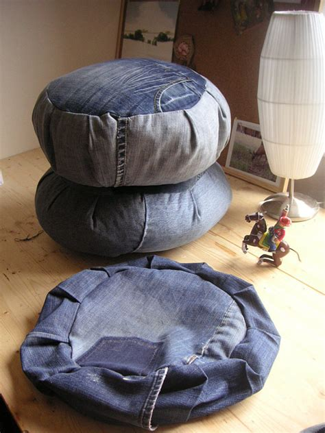 pattern for zafu meditation cushion diy denim zafu how to instructions for meditation cushion