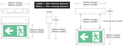 wiring diagram non maintained emergency lighting