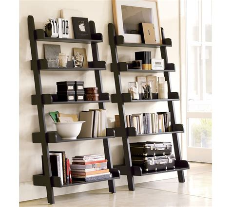 Pottery Barn Ladder Shelf pin by sherry conrad on someday home shared spaces