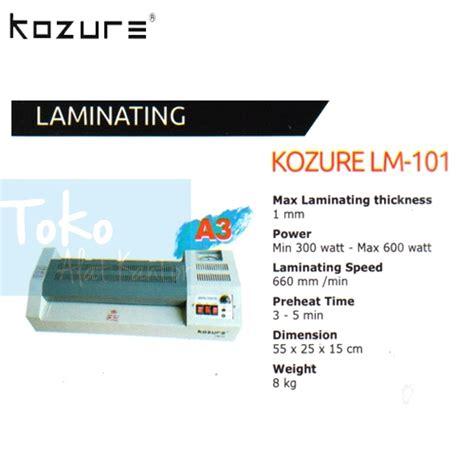 mesin laminating kozure lm 101 distributor furniture kantor