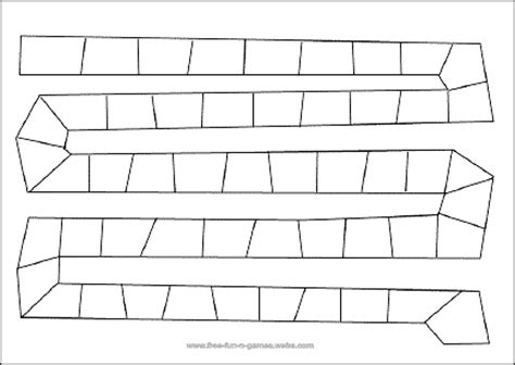 blank game board calendar june