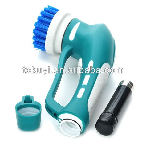 Electric Shower Scrubber by Kitchen Cleaning Tool Kitchen Cleaning Brush Handle Power