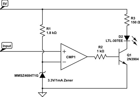 pull up resistor lm311 led quot ideal quot solid state switches electrical engineering stack exchange