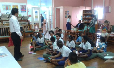 Origami Classes For - handing ceremony of a new school to fiji