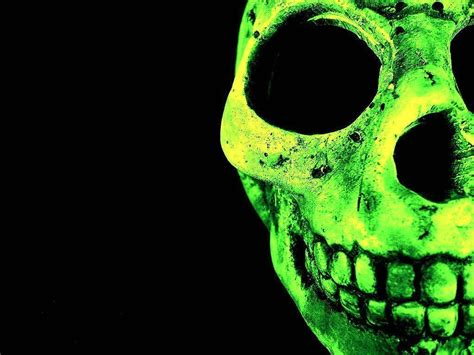 wallpaper green skull green skull wallpapers wallpaper cave