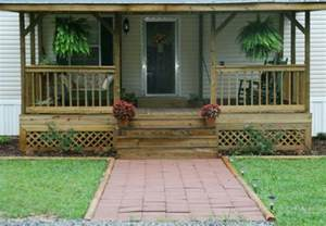 Mobile Home Decorating Ideas Single Wide mobile home front porch pictures mobile homes ideas