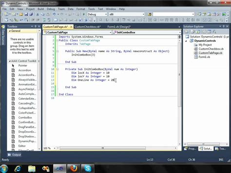 design application visual studio create controls dynamically on windows forms application