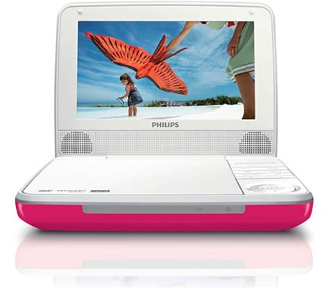 Philips X55p Pink Laptop by Portable Dvd Player Pet741p 17 Philips