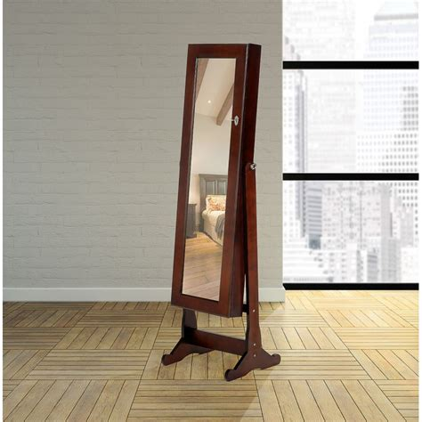 rustic style jewelry armoire rustic jewelry armoire clever mirror jewelry cabinet