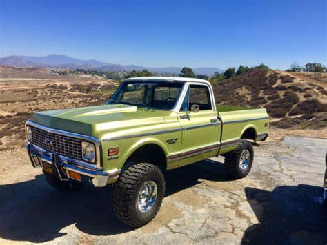 chevy mountain series truck autos post