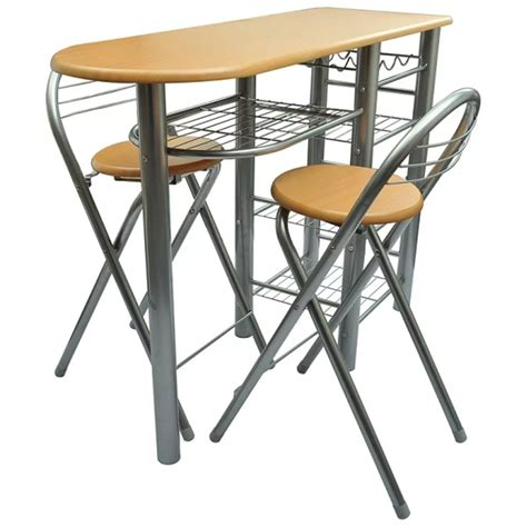 Kitchen Bar Table Sets by Kitchen Breakfast Bar Table And Chairs Set Wood
