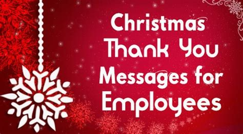 christmas   messages  employees