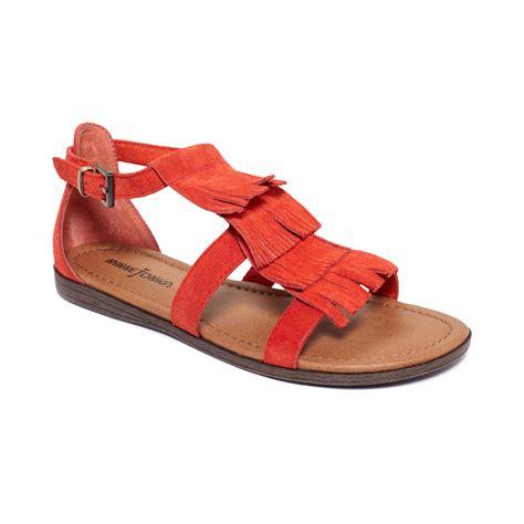 minetonka sandals minnetonka minnteonka shoes flat sandals in orange