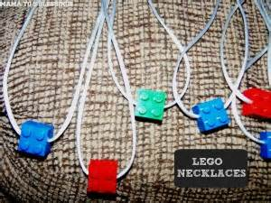 lego jewelry tutorial lego necklace tutorial mama to 6 blessings