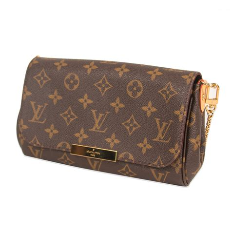 louis vuitton monogram canvas favorite pm bag  luxury