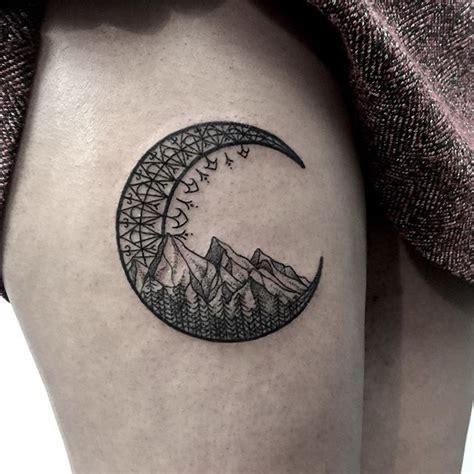 tattoo ideas moon 17 best ideas about crescent moon tattoos on pinterest