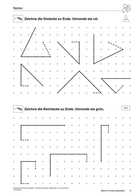 Mathe Formen Grundschule