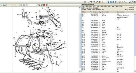 massey ferguson parts diagrams wiring diagram for ferguson to 35 tractor get free image
