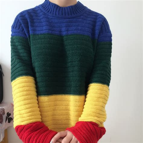 Rainbow Sweater rainbow sweater sweater and boots