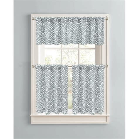Kitchen Drapes And Curtains Kitchen Curtains Walmart