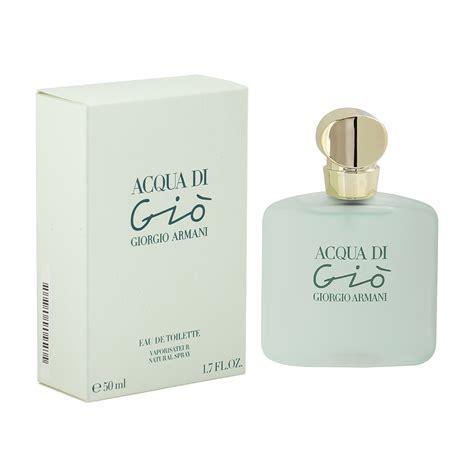 Parfum Giorgio Armani Aqua Di Gio Original 100 giorgio armani acqua di gi 242 femme edt 50ml