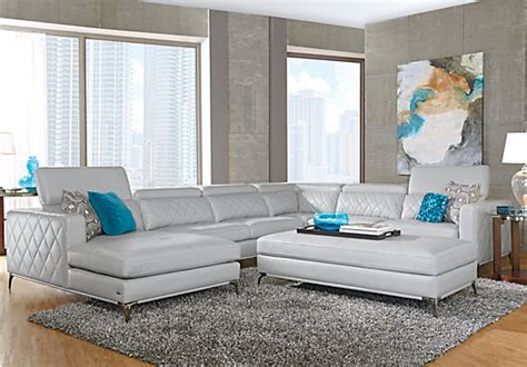 sofia vergara sectional sofa sofia vergara sorrento platinum right 5 pc sectional
