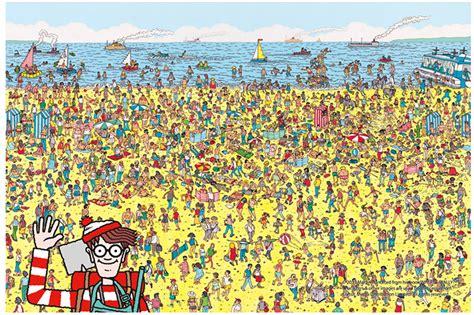 "Jigsaw Puzzles 1000 Pieces ""Where's Wally?"" : Beach""   eBay"