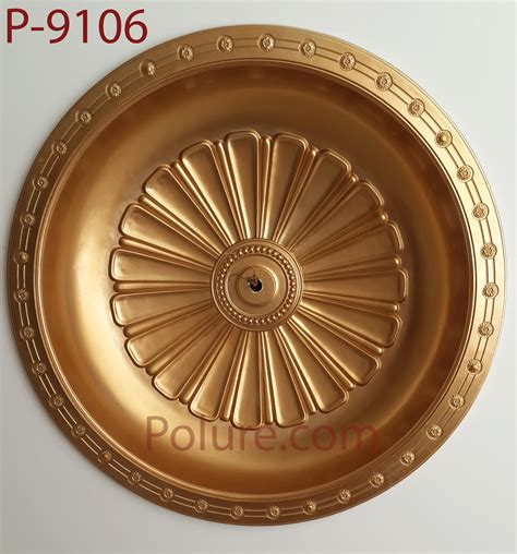 home decorative products p 9106 polyurethane decorative dome model