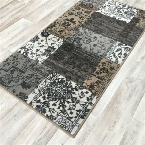 Patchwork Sler - silver patchwork wilton rug cheap rugs flooring direct