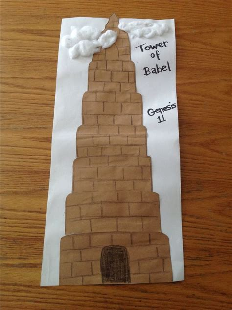 bible crafts for 17 best images about ot babel on sunday school