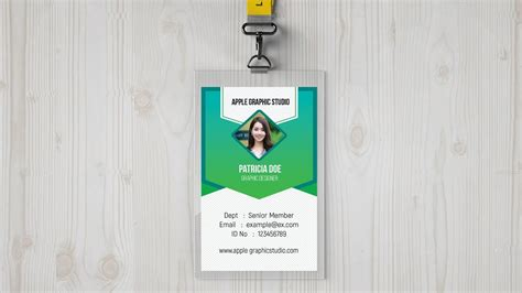 id card design tutorial identity card design tutorial in photoshop make your own