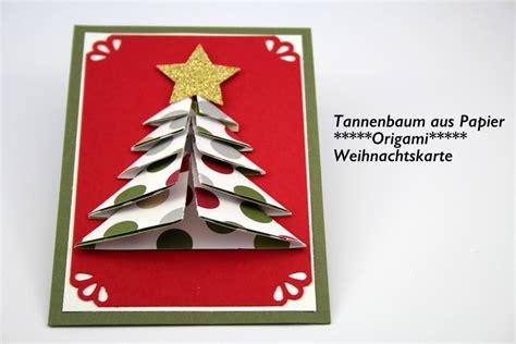 origami tannenbaum aus papier anleitungsvideo