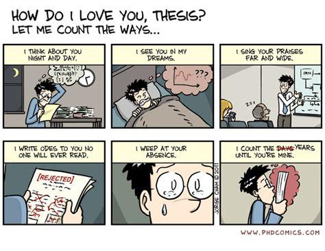 phd comics thesis phd comics how do i you