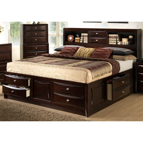 Size Storage Bed by Lyke Home Oxi Storage Bed Beds