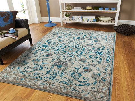 blue living room rugs traditional vintage area rug distressed rugs blue area