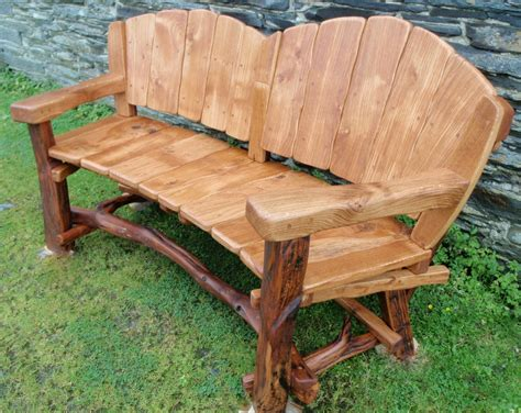 hardwood garden bench rustic wood bench with back rustic garden benches